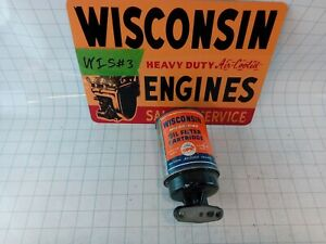 Wisconsin Engine New Old Stock Oil Filter Rv29a Free S h