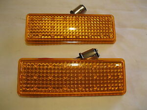 1947 1953 Chevrolet Truck Led Front Amber Trun Signals Parking Lights 24 Led S