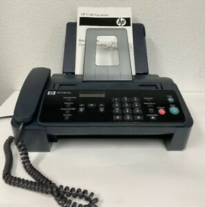Hp 2140 Fax Machine W copy Function Handset With Manual