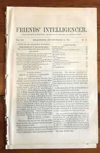 1862 Newspaper Jasper Cave Discovered Near Berlin New Hampshire White Mountains