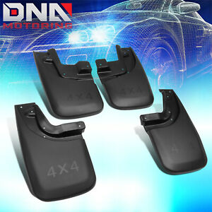 For 2005 2015 Toyota Tacoma 4pcs Front rear Wheel Mud Guard Splash Flaps Kit