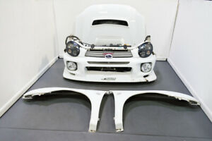 Jdm Subaru Wrx Sti Bugeye Sedan Front Clip With Hid Headlights C West Bumper