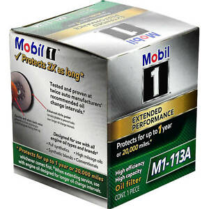M1113a Mobil 1 Extended Performance Oil Filter 4 Pack