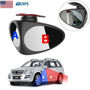 Blind Spot Right Mirror Adjustable 360 Wide Angle Convex Mirror For Car Truck