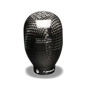 Nrg Racing Type R Style Short Throw 5 Speed Shifter Shift Knob Carbon Fiber