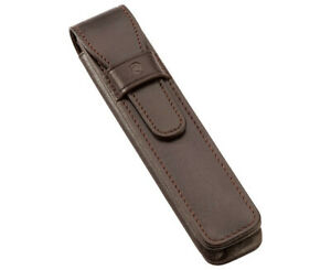Staedtler Premium Single Leather Pen Pouch Brown