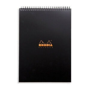 Rhodia Wirebound Notebook A4 Graph Paper