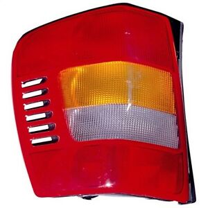 Tail Light Assembly Left Omix 12403 23 Fits 99 04 Jeep Grand Cherokee