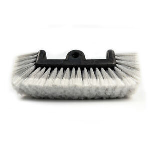 Carcarez 12 Quad Car Wash Brush Bristle Super Soft Heavy Duty Clean Truck Suv