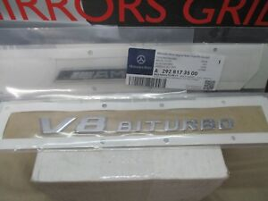 Mercedes Benz Gle43 Gle63 Amg S Emblem Part A 292 817 35 00 New 2017 17