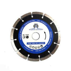 6 inch General Purpose Laser Welded Diamond Saw Blade For Concrete Masonry