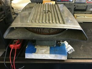 Original Vintage Cal Custom shaker Finned Hood Scoop Boat Rat Rod Street