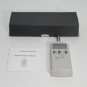 Extech 35 100 Db 65 130 Db Sound Level Meter With Case 407735