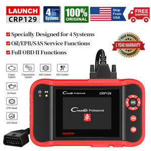 Launch X431 Obd2 Automotive Diagnostic Scanner Obd Code Reader Abs Srs Scan Tool