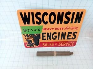Wisconsin Engine New Old Stock Power Take Off Shaft Wa70 Free S h