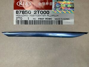 Optima 2011 15 Center Pillar Chrome Molding Quarter Panel Trim Left Driver Side