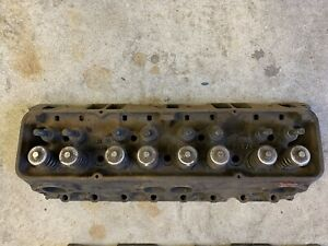 Oem Gm 3782461 Cylinder Head Sbc 327 Fuel Injection Corvette Impala Dated G 28 3