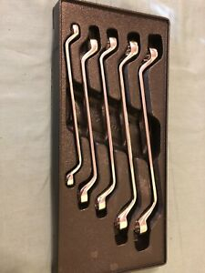 Snap On 12 Point Metric Flank Drive Deep Offset Box Wrenches