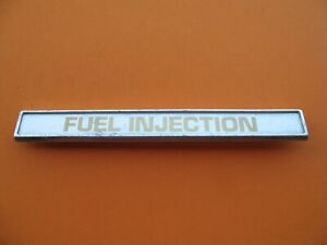 60 s 70 s 80 s Volvo Fuel Injection Emblem Logo Badge Sign Symbol Oem Used A1297