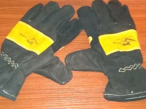 Firefigther Gloves Dragon Fire Alpha Guanlet heat Protection Glove Small Size