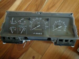 1992 1993 1994 Ford F250 F350 Gas Instrument Cluster Unknown Mileage