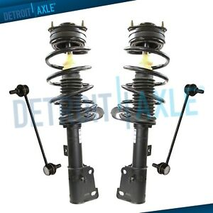 Front Struts W Coil Springs Sway Bars For 2006 2007 2008 2009 201