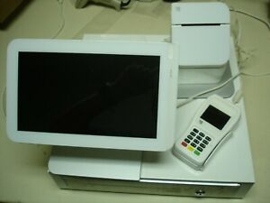 Clover 1 0 Station Retail Point Of Sale Pos System W Printer Cash Drawer