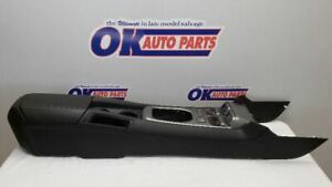 11 Chevy Camaro Center Floor Console Black Manual Transmission With Gauges