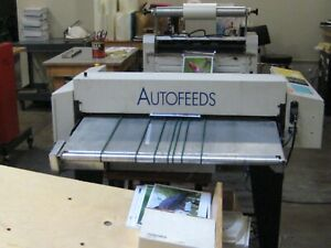 Ledco Industrial Thoroughbred 25 Laminator W Stand Wheels And Brakes