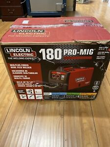 New Lincoln Electric 180 Hd Amp Weld Pak Mig Wire Feed Welder 180hd