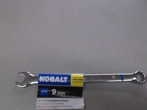 Kobalt Metric 9mm 12 Point Combination Wrench 0337659