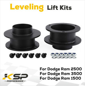 Fits Dodge Ram 2500 3500 94 13 4wd 2 5 Inch Lift Front Leveling Kit 4x4 Steel