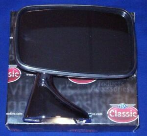 Mgb Tex Brand Door Convex Mirror Hdwr For 74 80 Mgb On Right Pass Side
