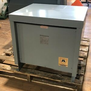 45kva Acme T 1a 53313 3s Power Transformer 3 Phase Style G 480v Delta Can Ship