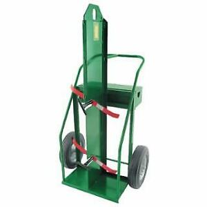 Anthony Heavy duty Dual Welding Cart For 9 5 In Cylinders With Firewall