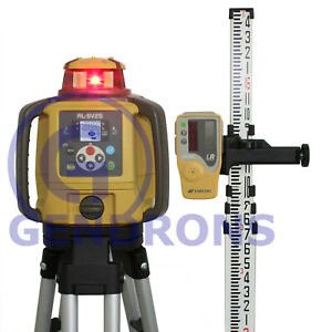 Topcon Rl sv2s Dual Slope Self leveling Rotary Grade Laser Level Package Inch