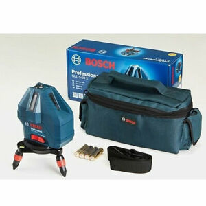 bosch Gll 5 50x Professional 5 line Laser Level Measure Self leveling