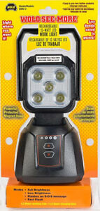 Wolo See More 15 watt Led Rechargeable Work Light Wol6000