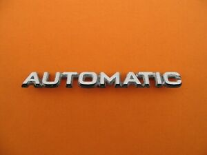 Volvo Automatic Emblem Logo Badge Sign Symbol Name Oem Used A1510