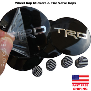 4x Trd Wheel Cap Hub Sticker Decal 2 20 4x Tire Valve Stem Caps Bundle Deal