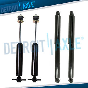 2wd Dodge Ram 2500 3500 Shock Absorbers All 4 Front Rear 8 Lug Models