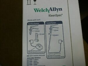 Welch Allyn Kleenspec Vaginal Speculum 59002 Medium Box Of 24