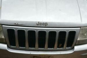Jeep Grand Cherokee 99 03 Oem Front Grill Grille 99 00 01 02 03
