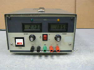 Kepco Msk 125 1m Power Supply 0 125v 0 1a In Good Working Condition
