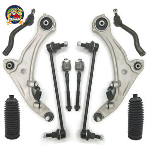 10pc Lower Front Control Arms Suspension Kit For 2007 2012 Nissan Altima 3 5l