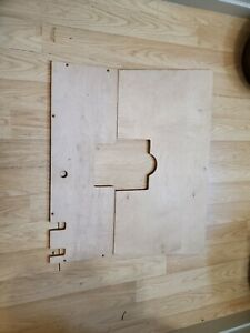 Model A Ford Floor Board Custom For Hydraulic Brakes Moved Battery 1928 1931