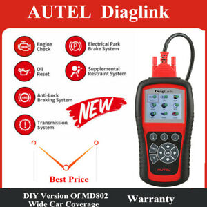 Automative Full System Obd2 Scanner Epb Oil Reset Diaglink Code Reader Scan Tool