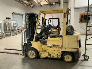Hyster 80 Forklift 7400 Lbs