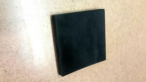 Neoprene Rubber Sheet Solid 1 2 Thk X 3 Square Spacer Pad 60 Duro Std