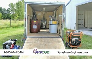 Titan Helix Spray Foam Machine Trailer Replaces Graco E20 E30 best Deal